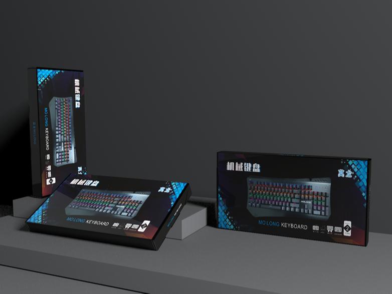 机械键盘瓦楞飞机盒-包装盒定制