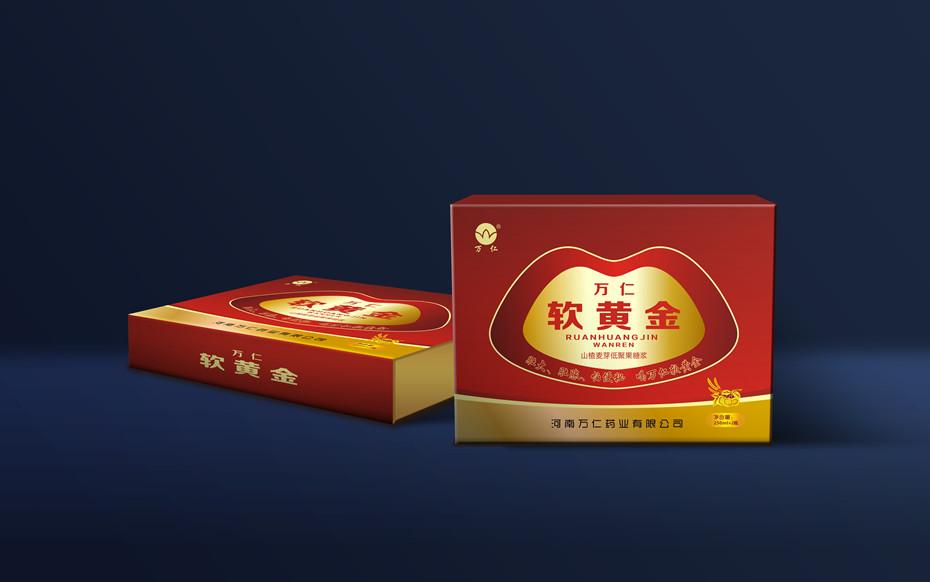 万仁软黄金礼盒-精品礼盒包装定制