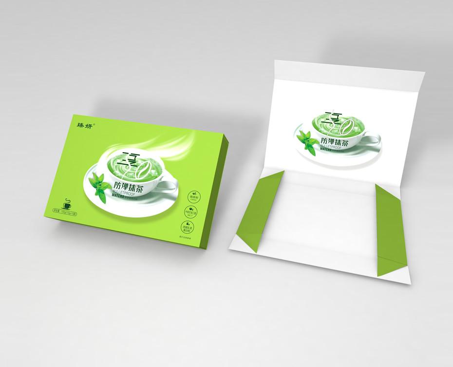 防弹抹茶-折叠礼盒