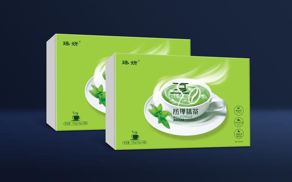 防弹抹茶精品盒-折叠礼盒