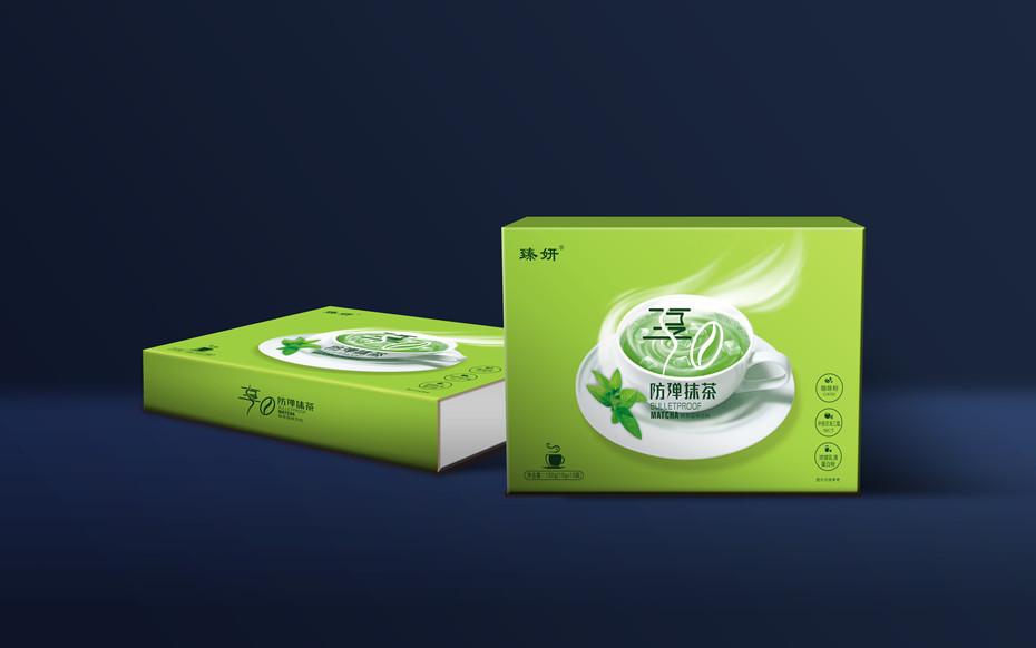 防弹抹茶精品礼盒-折叠礼盒