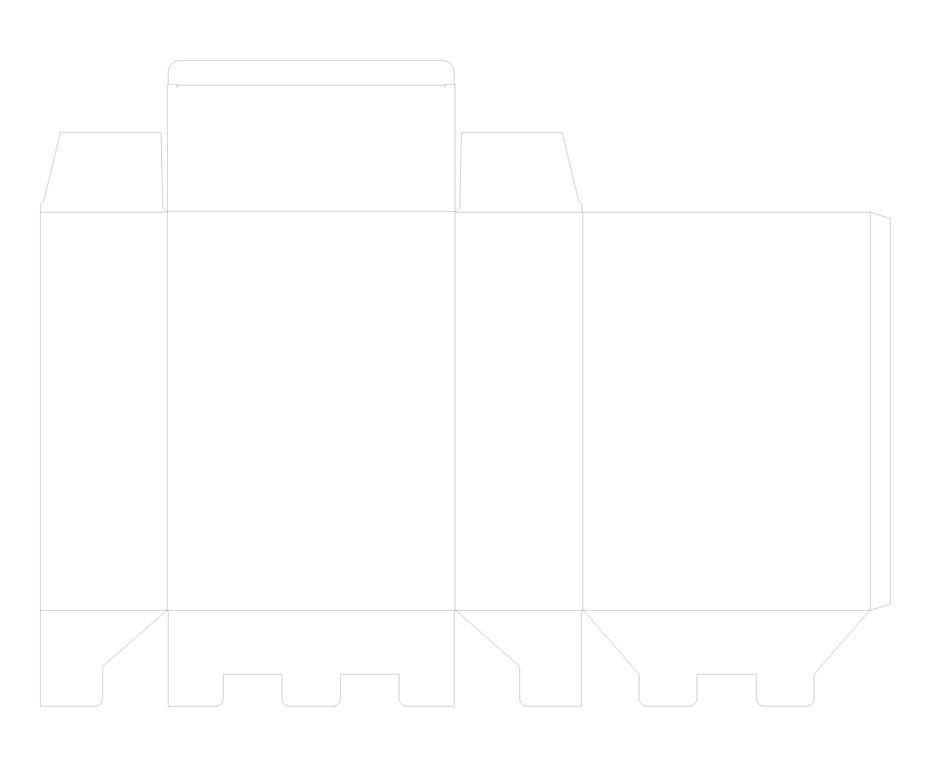 扣底盒-帮橙包装卡盒定制