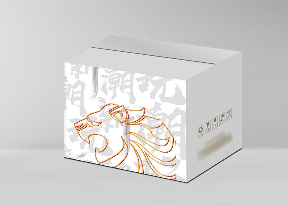酒灵兽彩箱-食品包装定制