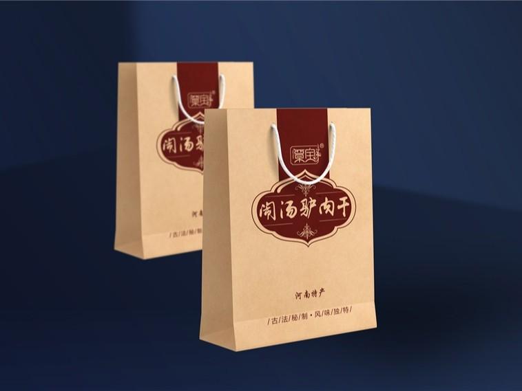 覃宝手提袋-食品包装定制