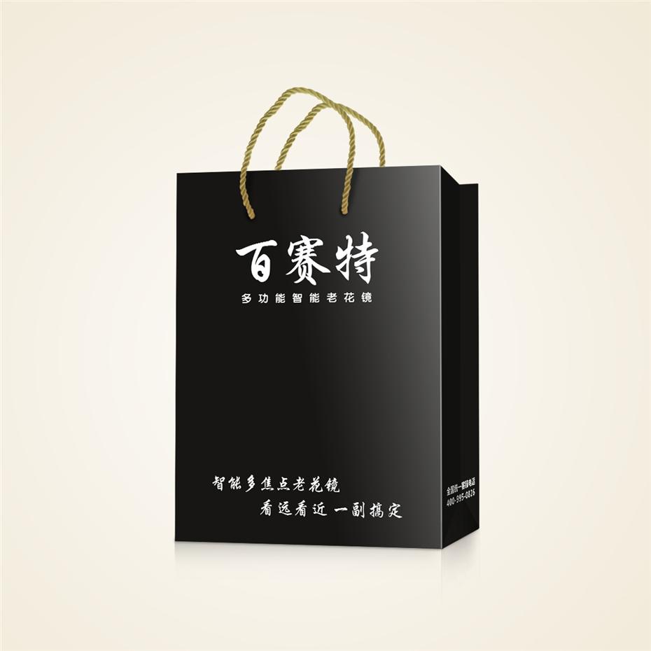 百赛特老花镜手提袋-日用品包装定制