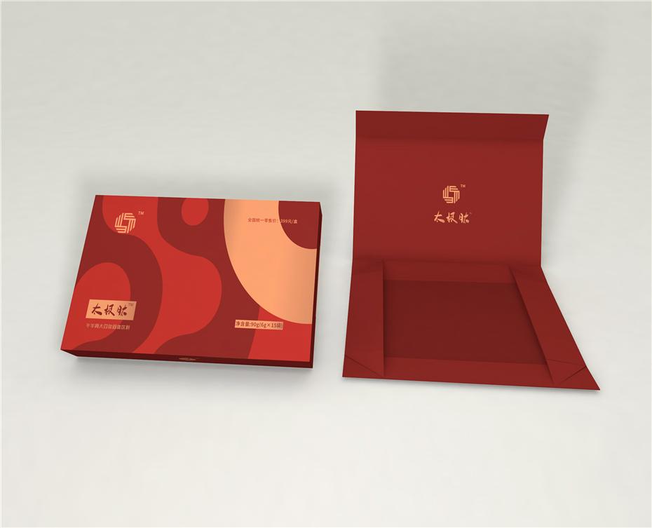 太极肽精品礼盒-保健品包装定制