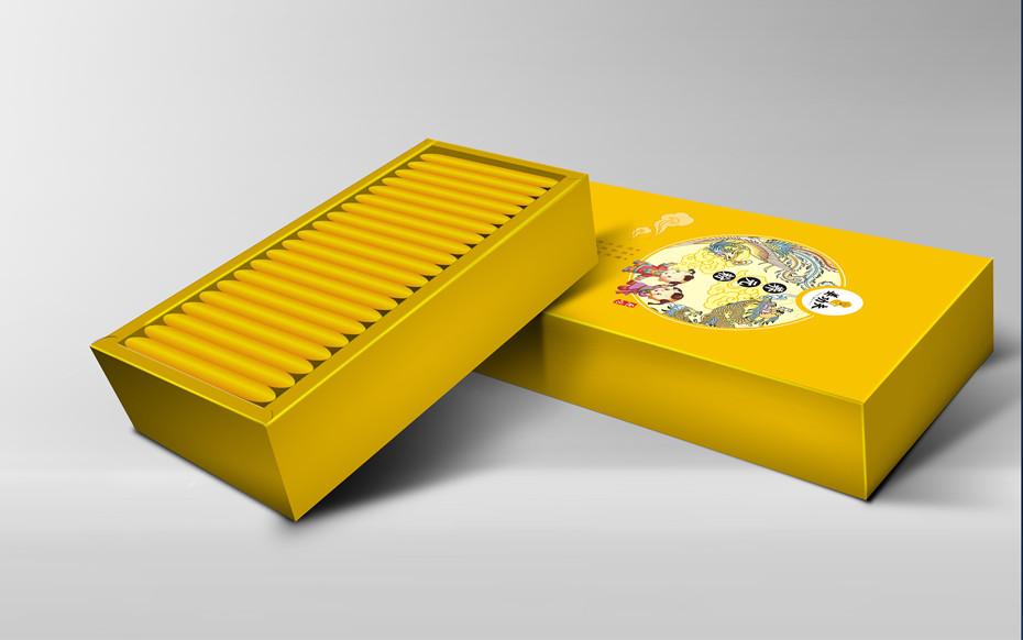 姜功夫卡纸盒-保健品包装定制