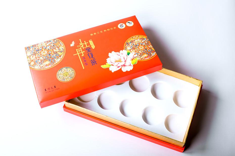 牡丹武皇牡丹全花茶-茶叶礼品盒2