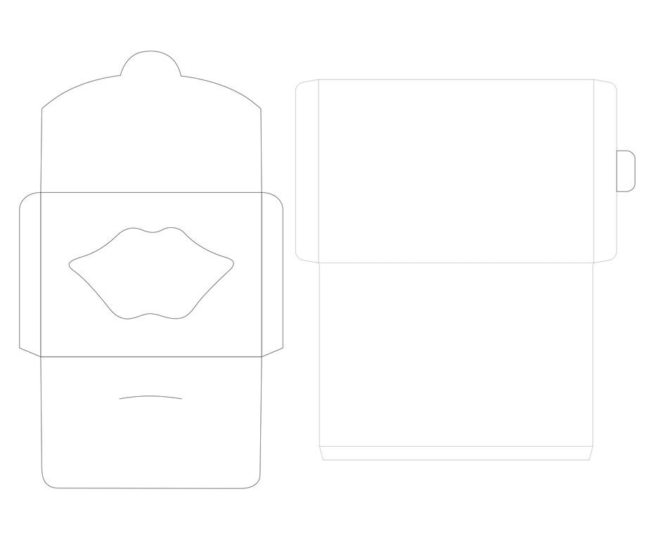 帮橙包装-信封式盒(纸袋盒)