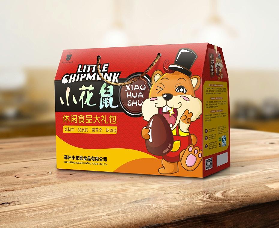 小花鼠-食品包装定制
