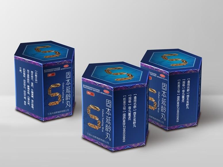 东方神藤卡纸盒-药品包装定制