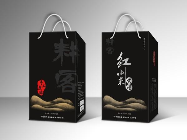 帮橙包装打造小米黄酒包装的设计与定制生产