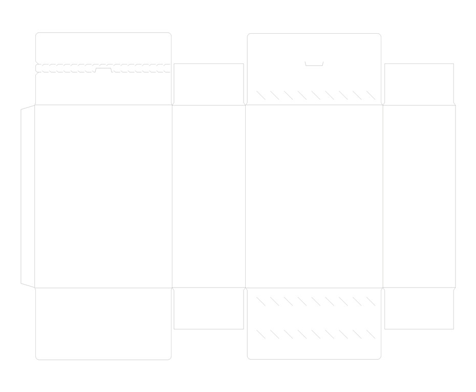 平粘口盒-帮橙包装卡盒定制