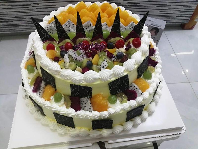 帮橙包装生日蛋糕