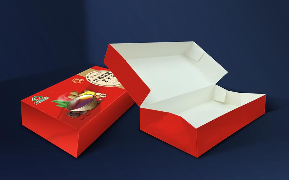 大地良方红糖桂圆姜枣茶-食品包装定制