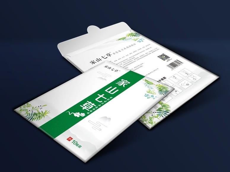 家山七草纸袋盒-保健品包装定制