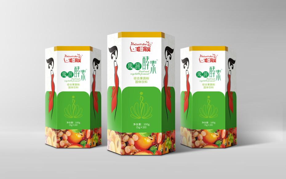 果蔬酵素-保健品包装定制