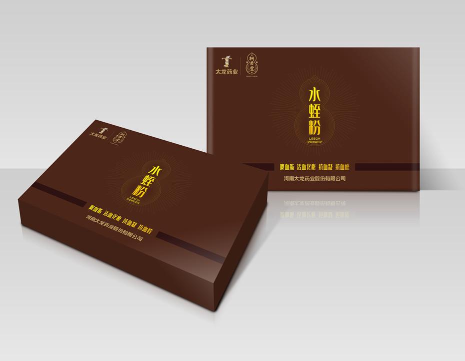 太龙药业精品礼盒-保健品包装定制
