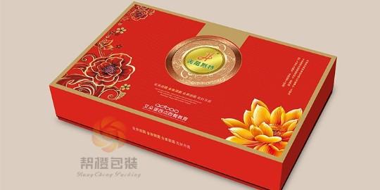 食品纸盒定制包装材质的优点
