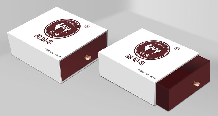 驼奶皂-日用品包装定制抽屉式礼盒