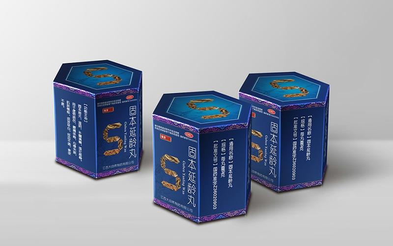 东方神藤卡盒六楞盒-药品包装定制