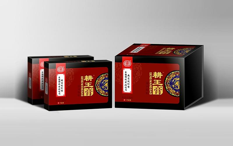 930 耕王膏精品礼盒-保健品包装定制