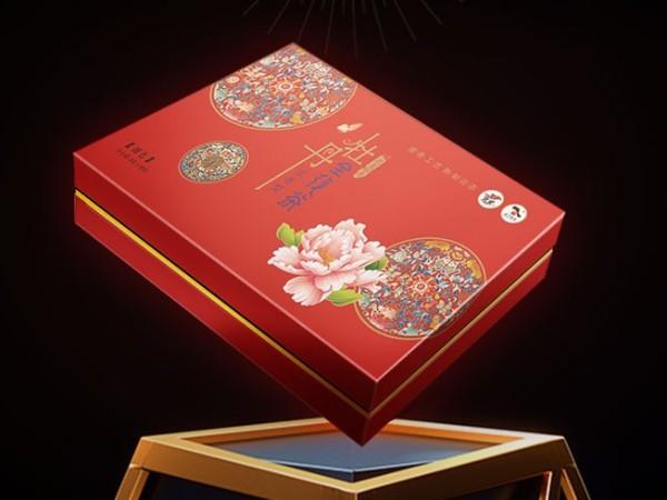牡丹武皇牡丹全花茶浓香型茶叶礼品盒