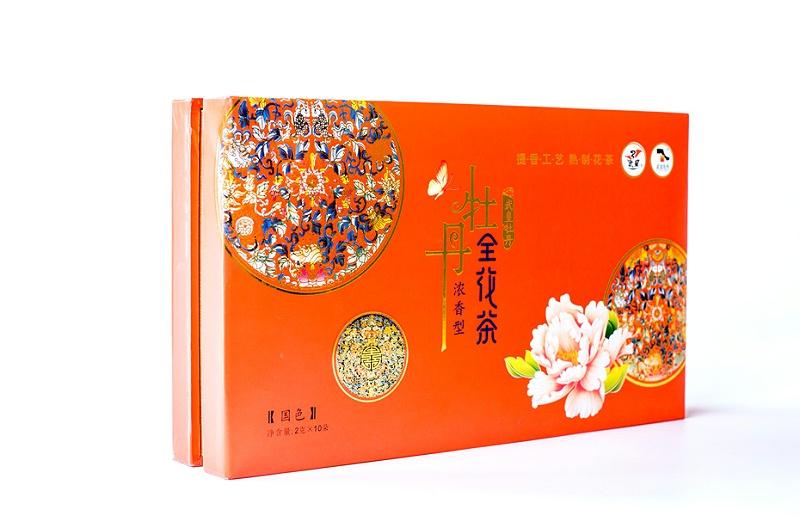 牡丹武皇牡丹全花茶-茶叶礼品盒3