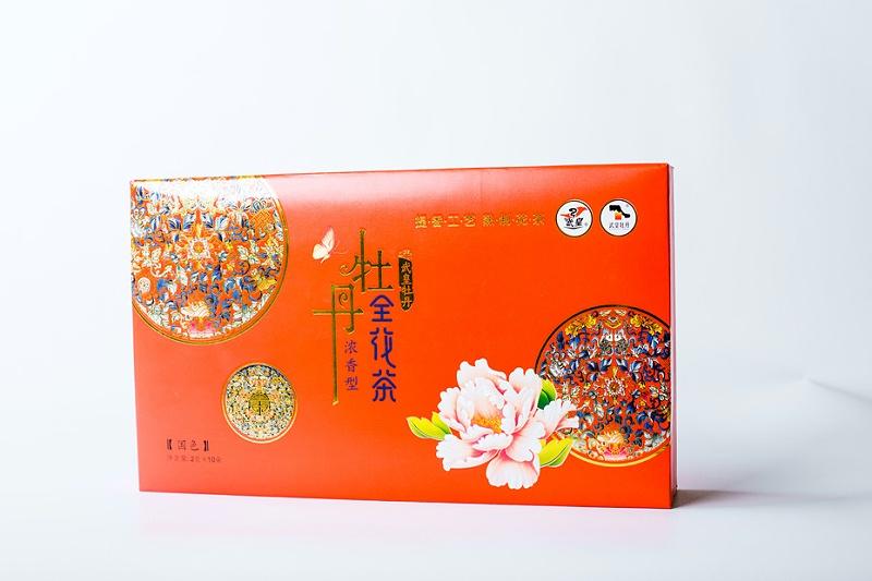 牡丹武皇牡丹全花茶-茶叶礼品盒1